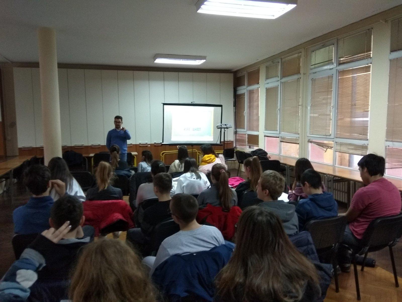 Školski čas kulture govora - OŠ Đorđe Natošević, Novi Sad