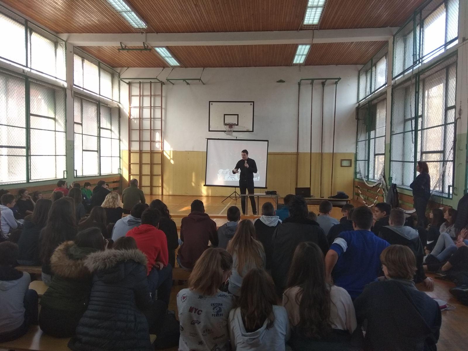 Školski čas kulture govora - OŠ Sonja Marinković, Novi Sad