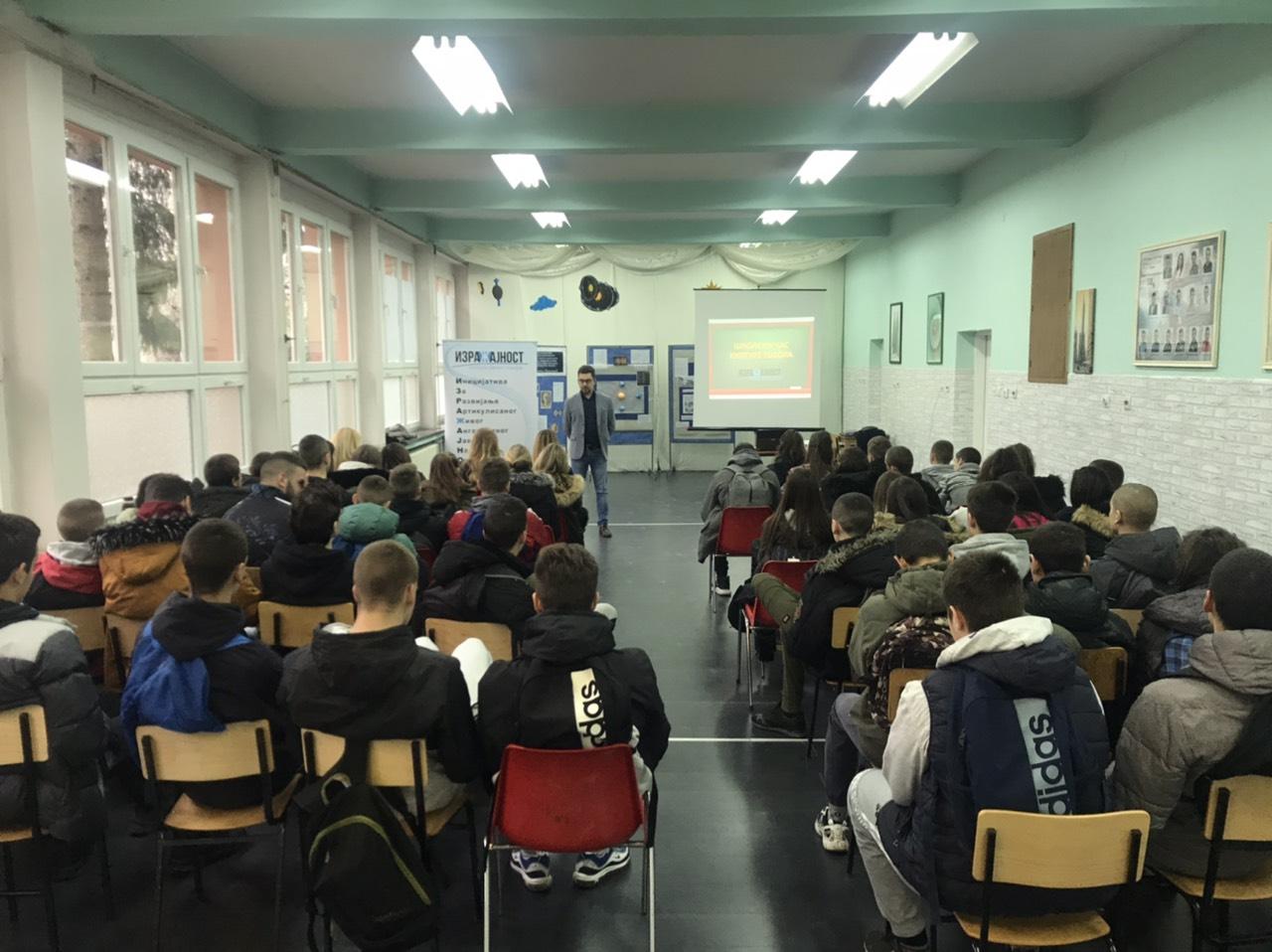 Školski čas kulture govora - Srednja stručna školi u Vrbasu