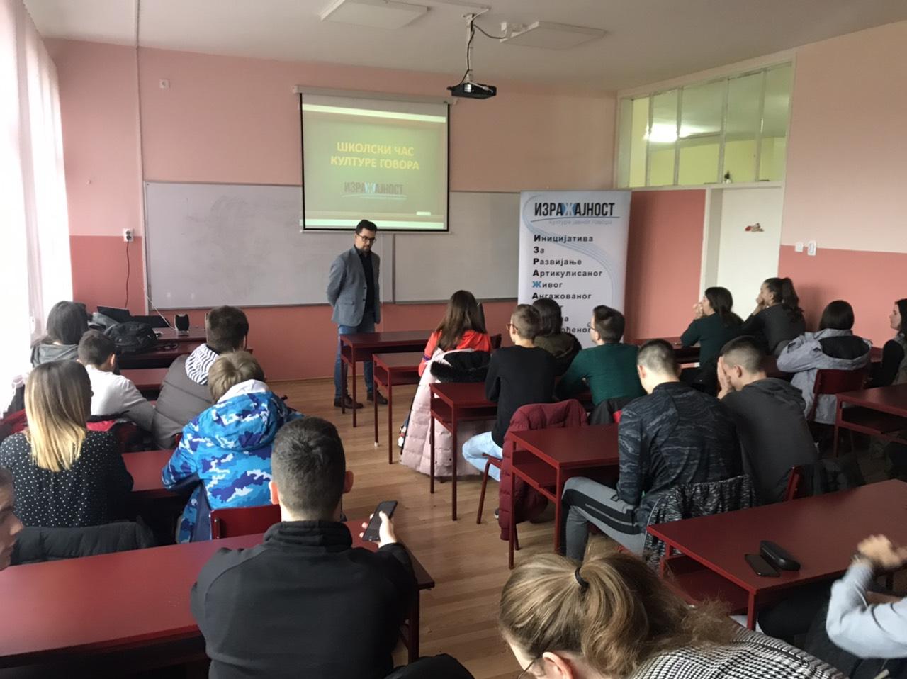"Školski čas kulture govora - Gimnazija i ekonomska škola ""Dositej Obradović"" u Bačkoj Topoli"