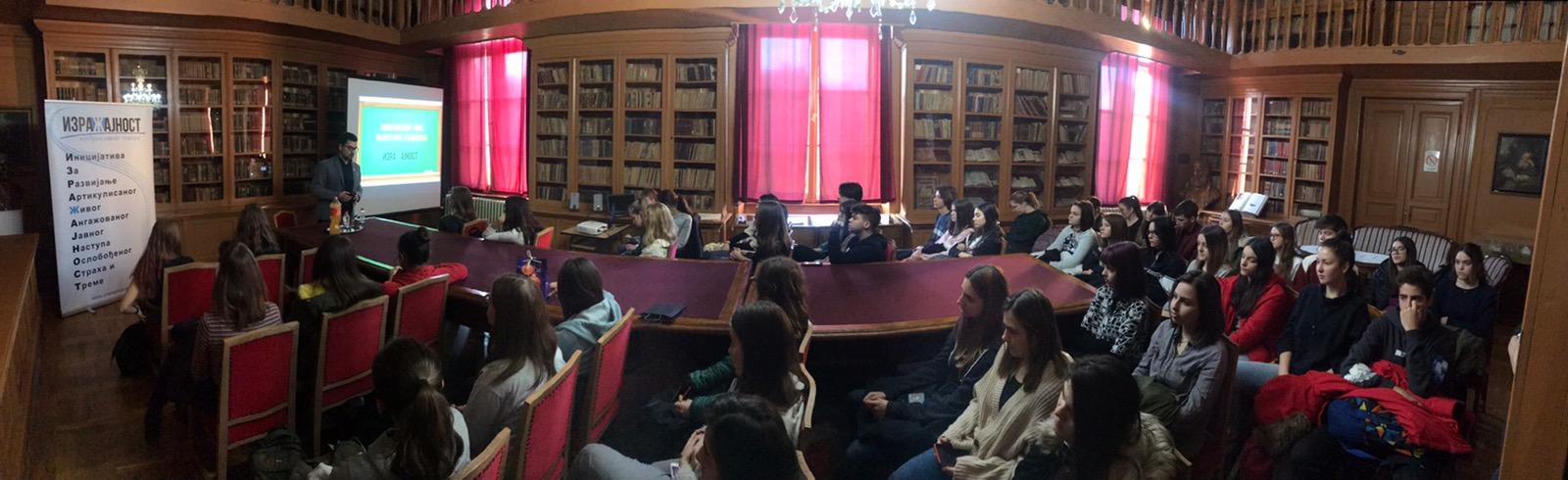 Školski čas kulture govora - Karlovačka gimnazija