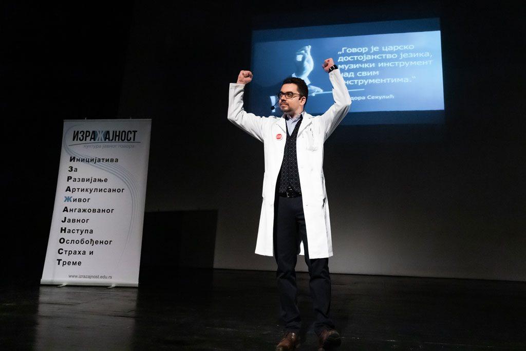 """Edukativna predstava u tri čina """"IZRAZI SE"""" - Gimnazija Laza Kostić, Novi Sad, 2019."""